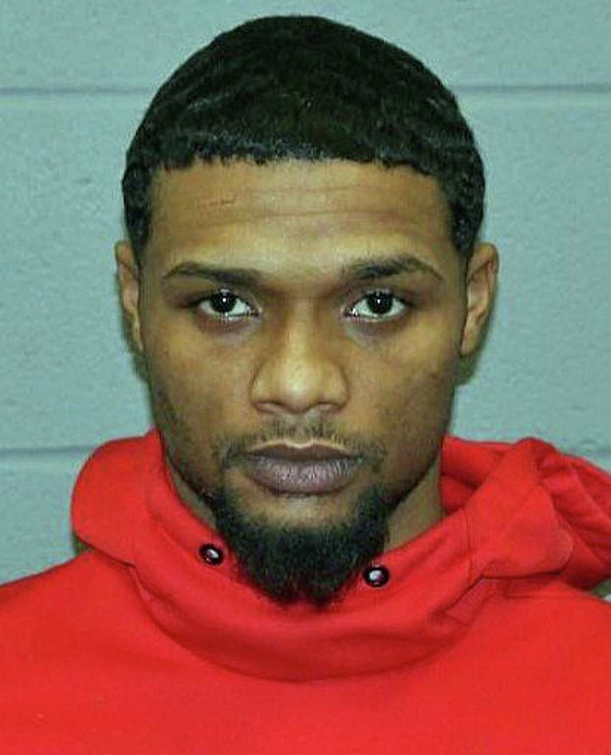 """Roznovsky Antonio Machado, 24, of Waterbury, is being sought by Naugatuck and State Police in connection with a traffic stop where a Naugatuck officer fired a shot at a vehicle. Police believe Machado was the driver of that vehicle. Deputy Chief Christopher McAllister said that the officer stopped the vehicle """"as a result of observing criminal activity."""" During the course of the traffic stop the officer discharged his weapon at the vehicle while it drove at him, police said."""