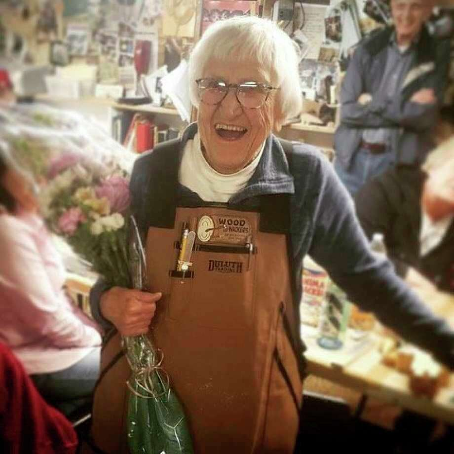 Bette Hartig, one of the founders of the Woodwackers Carving Club, was chosen as this year's Patron of the Arts. She will be recognized during a celebratory brunch Sept. 27. (Courtesy photo)