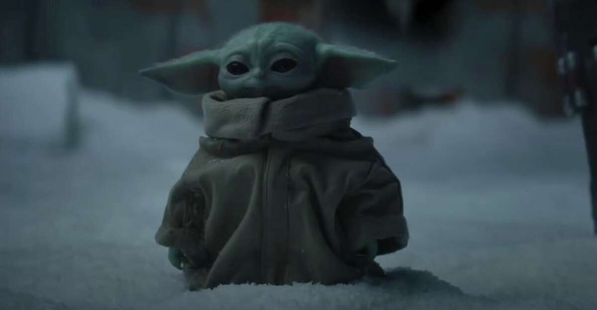 Yoda as a baby. His 900 years of life are still ahead of him.
