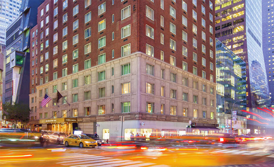 The Omni Berkshire Place in midtown Manhattan, long popular with business travelers, has shut down for good. Photo: Omni Hotels