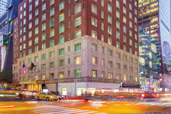The Omni Berkshire Place in midtown Manhattan, long popular with business travelers, has shut down for good.