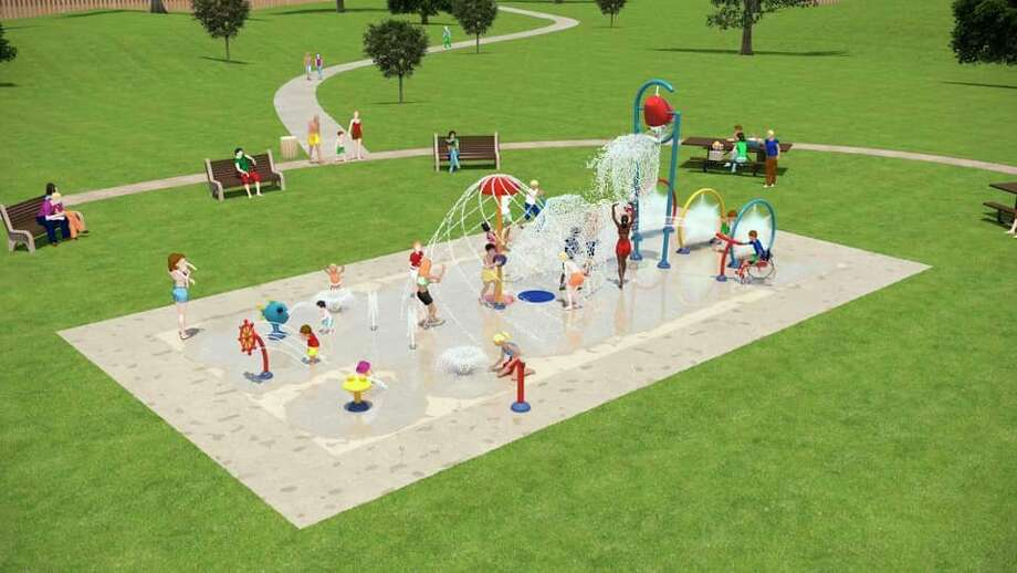Designs for thePort Austin Splash Pad have been finalized with construction said to begin soon at the Bird Creek Park location. (Port Austin Splash Pad/Courtesy Photo)