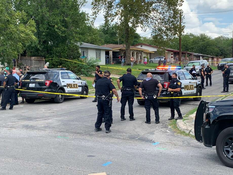San Antonio police said Tuesday they are responding to a 'critical incident' on the West Side. Photo: Mark Dunphy