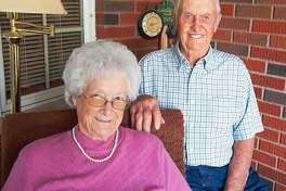 Grace and Delbert Kanallakan of Jerseyville will celebrate their 70th anniversary on Wednesday.
