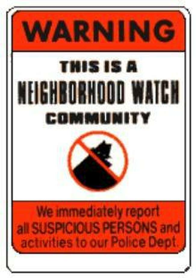 Crime watch neighborhoods are marked with a sign, indicating residents are part of the city's Neighborhood Watch program. Photo: Torrington Police Department / Contributed Photo /
