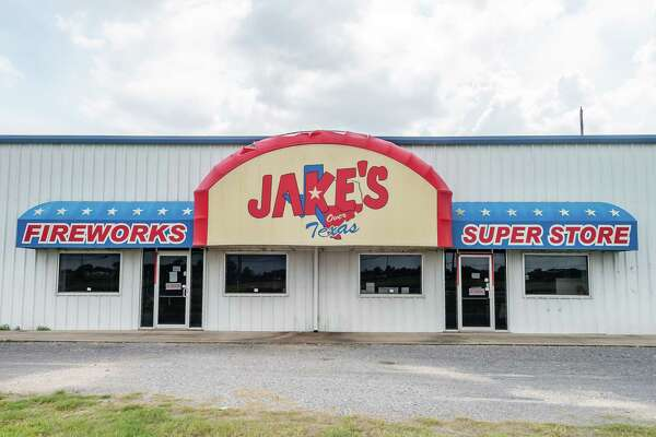 Jake's Fireworks, 2565 N. Twin City Highway in Nederland, TX. Photo made on July 19, 2020. Fran Ruchalski/The Enterprise