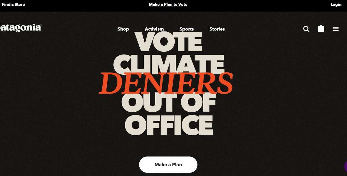Yes, Patagonia's founder Yvon Chouinard is undaunted when it comes to voicing his opinions about climate change and politicians who deny it. In fact, when you turn over the tag on Patagonia's newest line of shorts, you'll see this very direct, unabashed declarative: