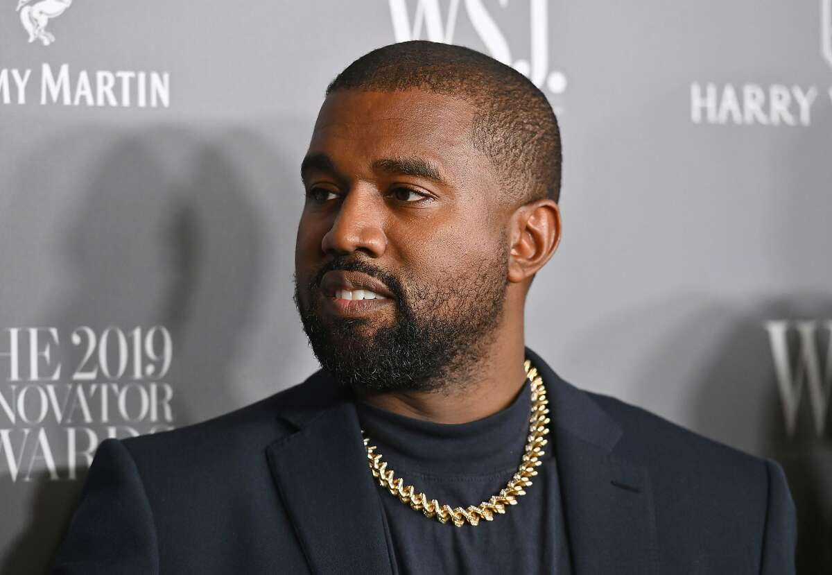 In this file photo, rapper Kanye West attends the WSJ Magazine 2019 Innovator Awards at MOMA on Nov. 6, 2019, in New York.