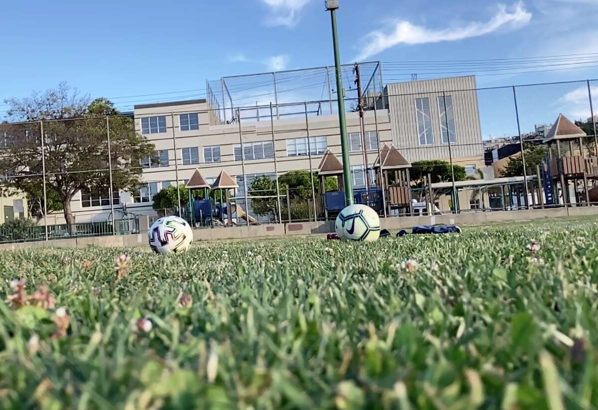 There is only room for one soccer player at a time at the wall at Jackson Playground in Potrero Hill, so please don't go there.