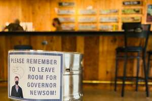 Around the Horn Brewing company takes Gov. Gavin Newsom's orders very seriously, and asks patrons to do the same.