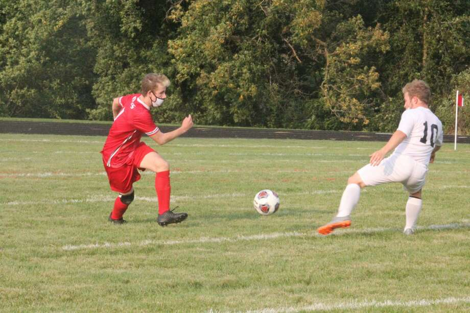 Reed City's boys soccer team fell to Lakeview 4-2 on Tuesday. Photo: John Raffel