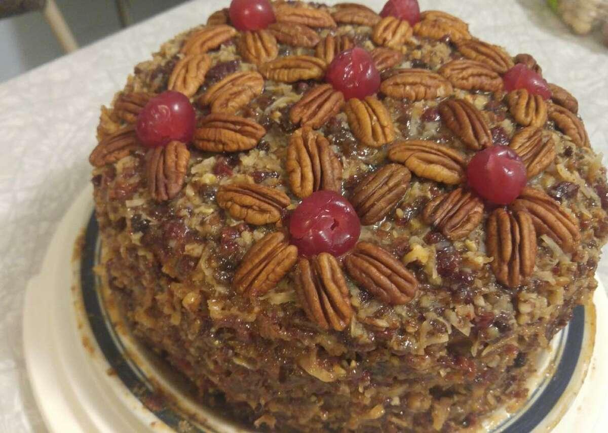 Alabama: The Lane Cake This super-moist cake screams