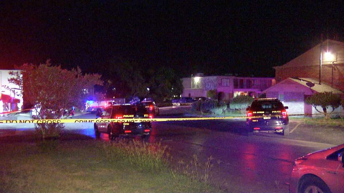 One man is dead and another is hospitalized after a shooting at a Southeast Side apartment Wednesday morning.