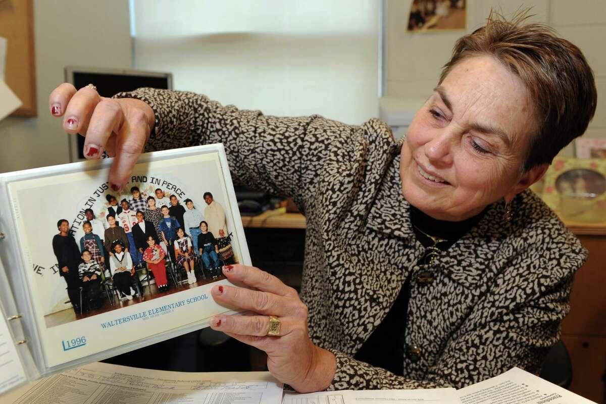 Ann de Bernard, former principal at Waltersville School in Bridgeport.