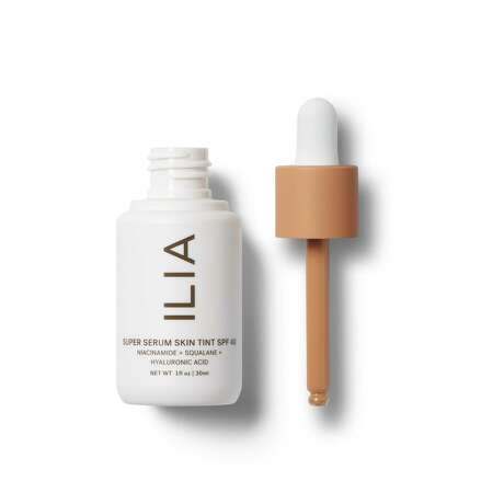 Ilia Super Serum Skin Tint SPF 40: With 18 shades, this weightless SPF serum employs hyaluronic acids to soften, moisturize and protect skin from UVA, UVB and blue light; $46 at iliabeauty.com, Sephora and Kuhl-Linscomb.