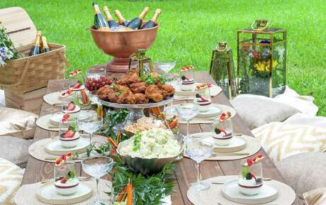 Tony's Catering can customize private picnics by handling rentals, staffing, food and beverage. The fine dining destination's Tony's Family Meal Fried Chicken serves up to four guests a fried feast including choice of two sides and cream gravy for $115.