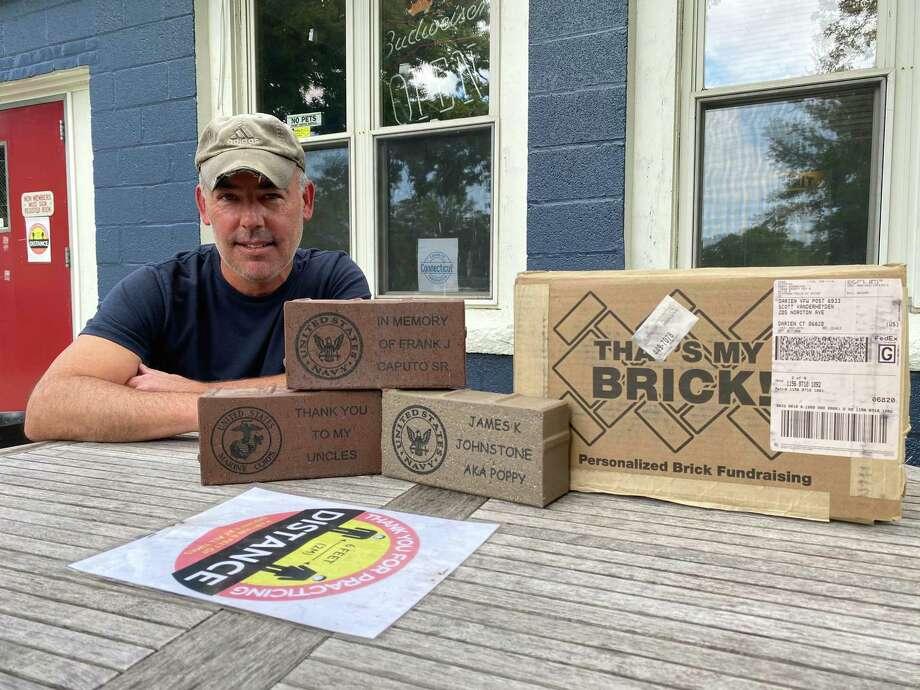Scott Vanderheyden of the Darien VFW is organizing a fund-raiser to help keep the facility open. Photo: Sandra Diamond Fox / Hearst Connecticut Media / Connecticut Post