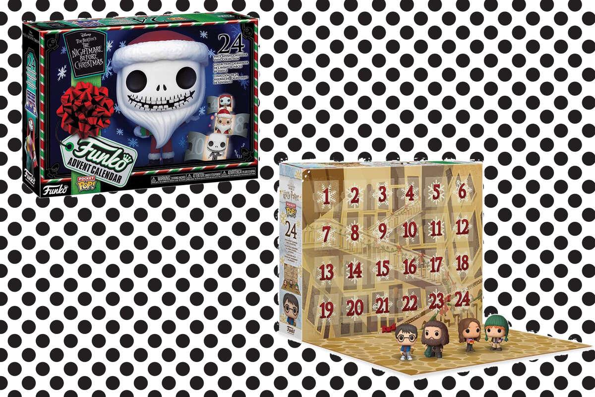 Funko Advent Calendar: 2020 Harry Potter, Multicolor, $39.96 on Amazon Funko Advent Calendar: The Nightmare Before Christmas 2020, $46.19 on Amazon