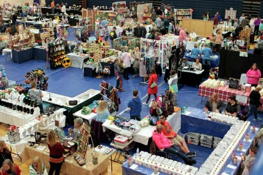 About 170 vendors were scheduled to be a part of the 2020 Morley Stanwood Holiday Bazaar. While it was canceled this year, the event is expected to resume in 2021. (Pioneer file photo)