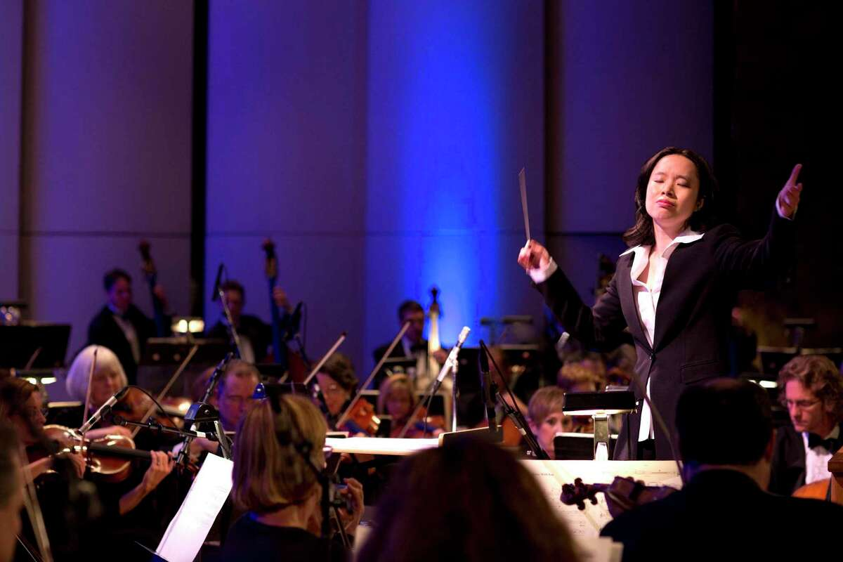 The Hartford Symphony Orchestra will furlough its musicians indefinitely, as of Sept. 28. Pictured is Music Director Carolyn Kuan.