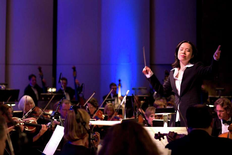 The Hartford Symphony Orchestra will furlough its musicians indefinitely, as of Sept. 28. Pictured is Music Director Carolyn Kuan. Photo: Hartford Symphony Orchestra / Contributed Photio