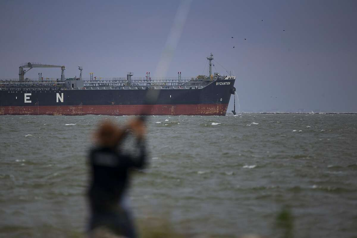 Crude oil stored at sea fell to an 11-month low last week.