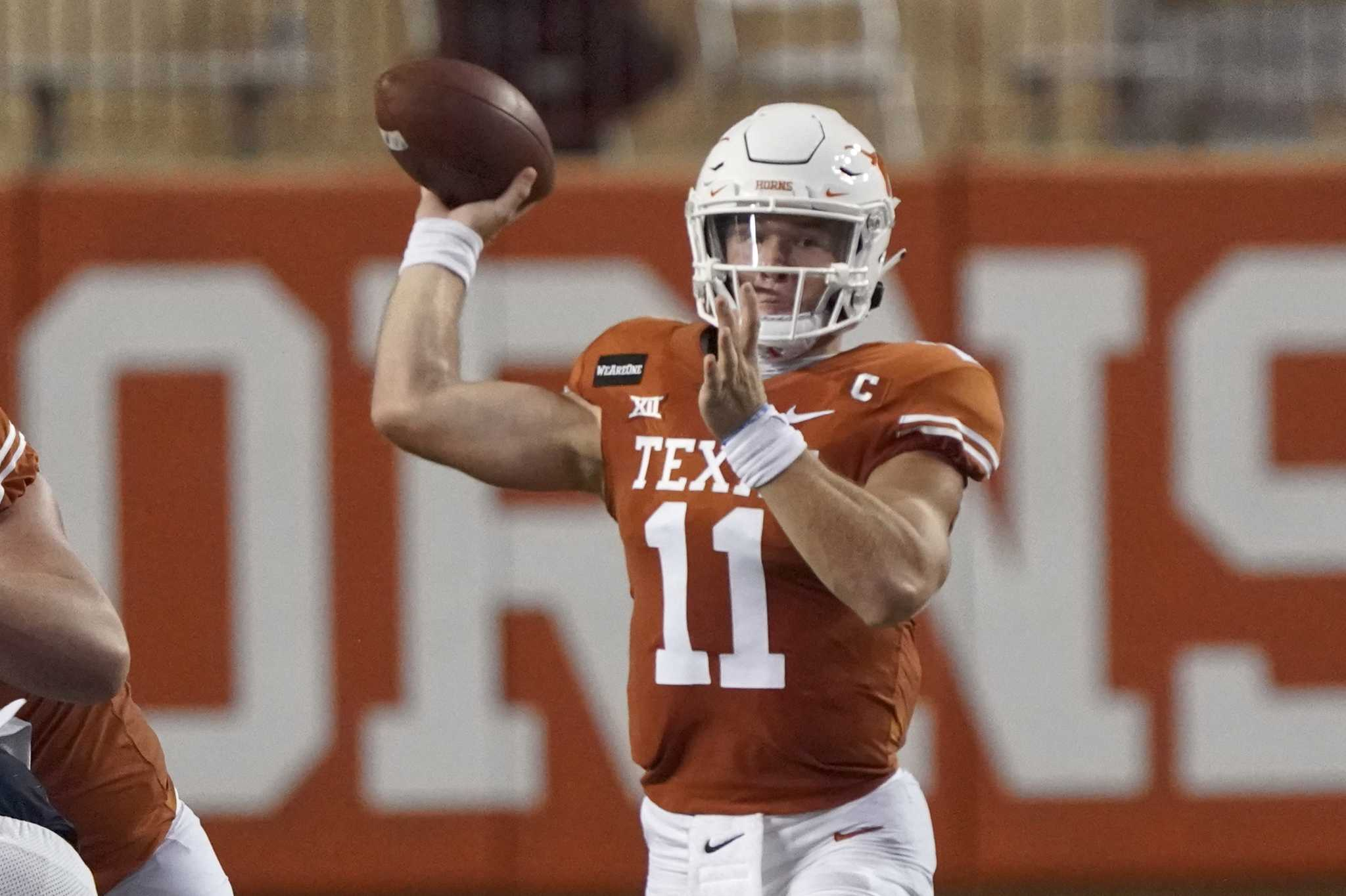 Texas Qb Sam Ehlinger Says He Can Do Better Than 426 Yards 5 Tds Houstonchronicle Com