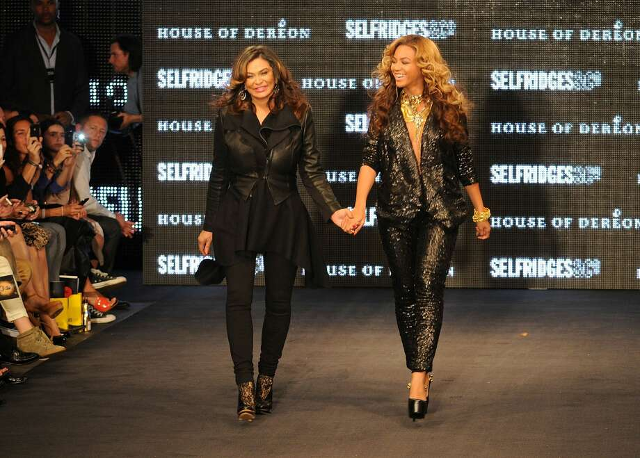 Tina Knowles and Beyonce Knowles at The Launch Of House Of Dereon By Beyonce And Tina Knowles at Selfridges on September 17, 2011 in London, England. (Photo by Eamonn McCormack/Getty Images) Photo: Eamonn M. McCormack/Getty Images / 2011 Getty Images