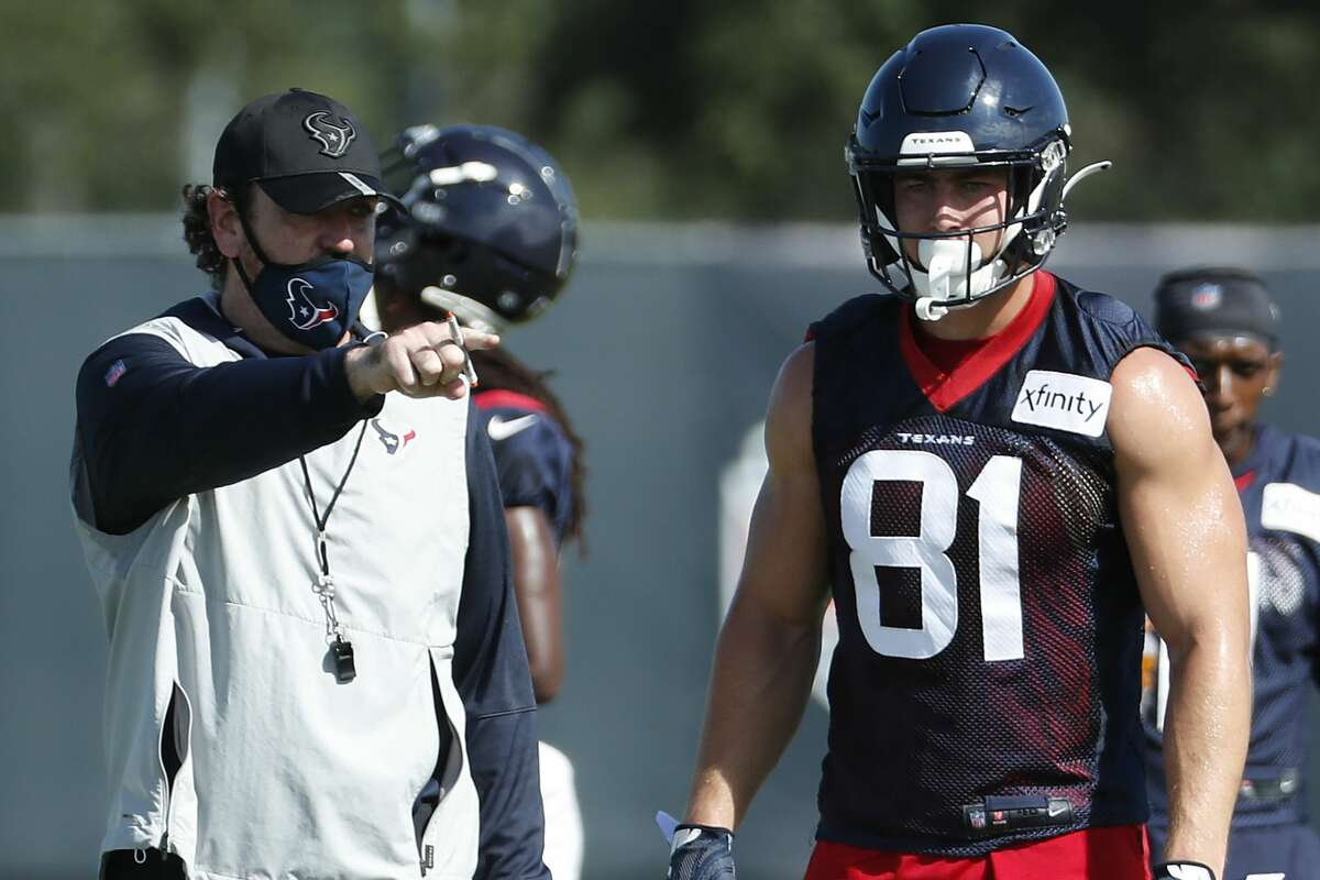 Tight end Kahale Warring, who made only three catches since being drafted in 2019, became the latest third-round pick to go bust for the Texans.