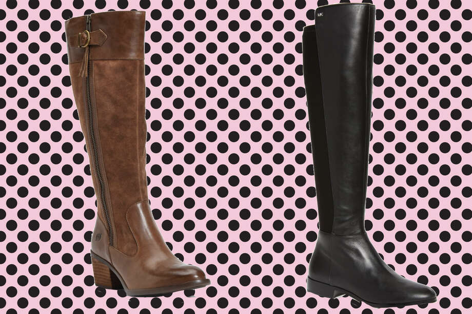BØRN Uchee Knee High Boot, NordstromMichael Kors Bromley Stretch Back Riding Boot, Nordstrom Photo: Nordstrom/Hearst Newspapers