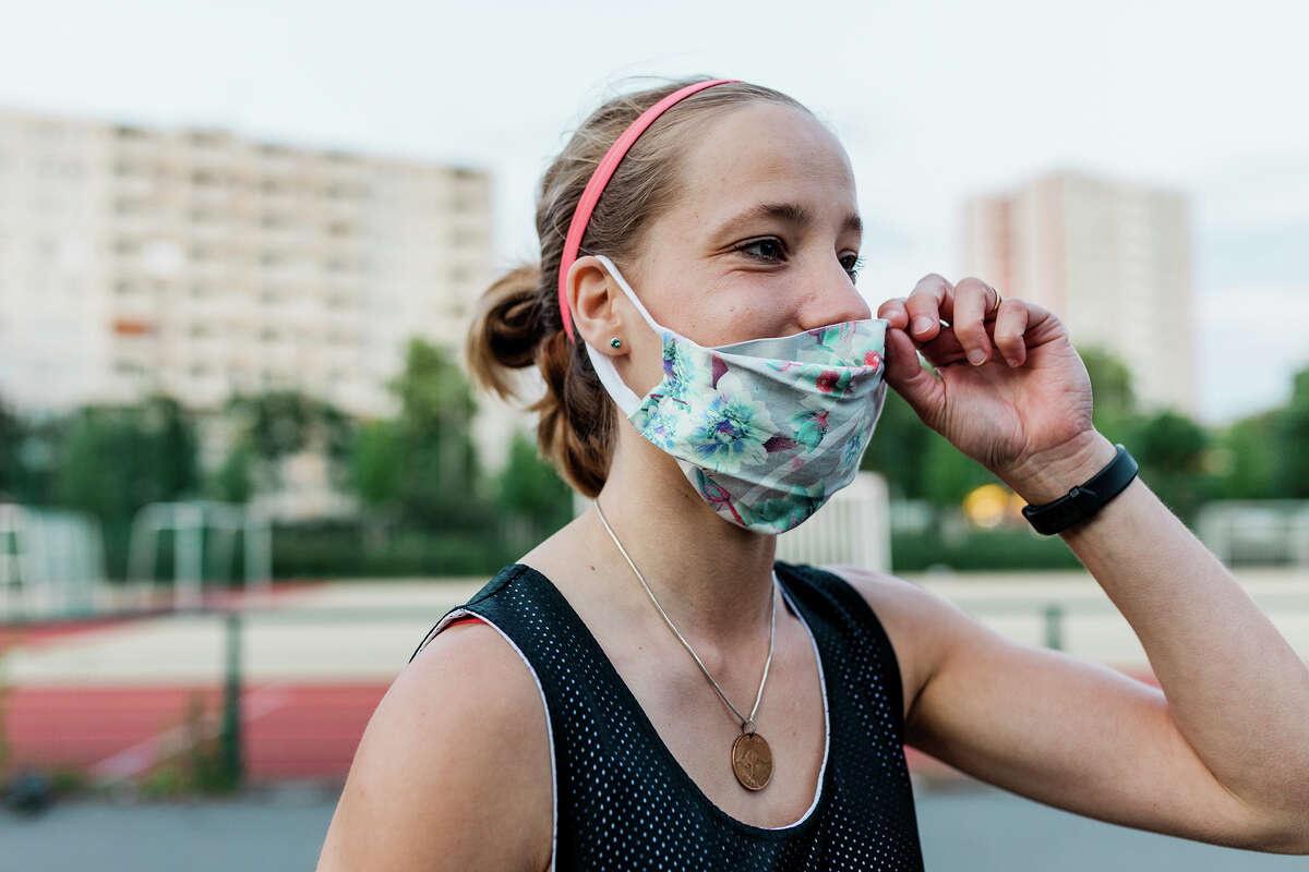 The Cooling Neck Gaiter Face Mask on Amazon is one of our reader's favorite masks.