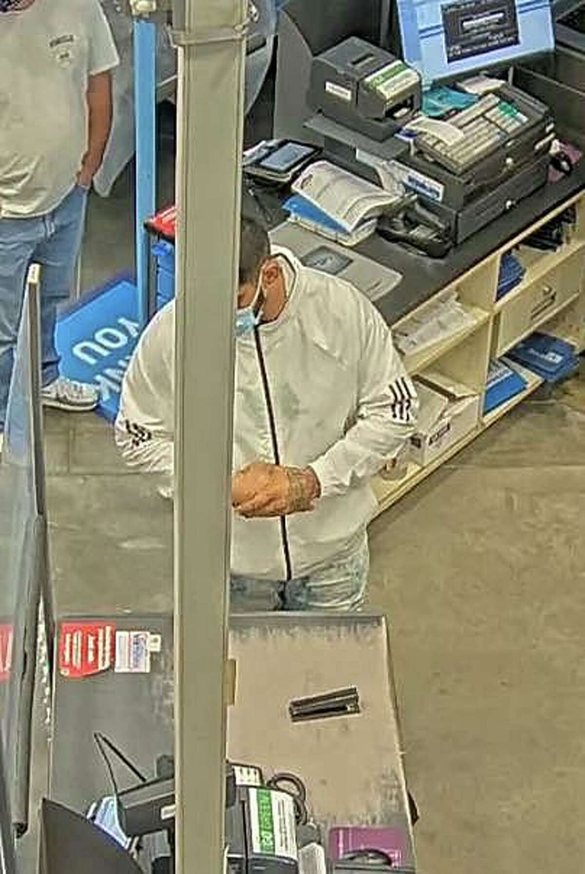 Waterford police are asking the public's help in identifying a suspect who stole $600 in merchandise from Lowe's and then tried to return it for a refund. The attempted theft happened on Tuesday, Sept. 15, 2020.