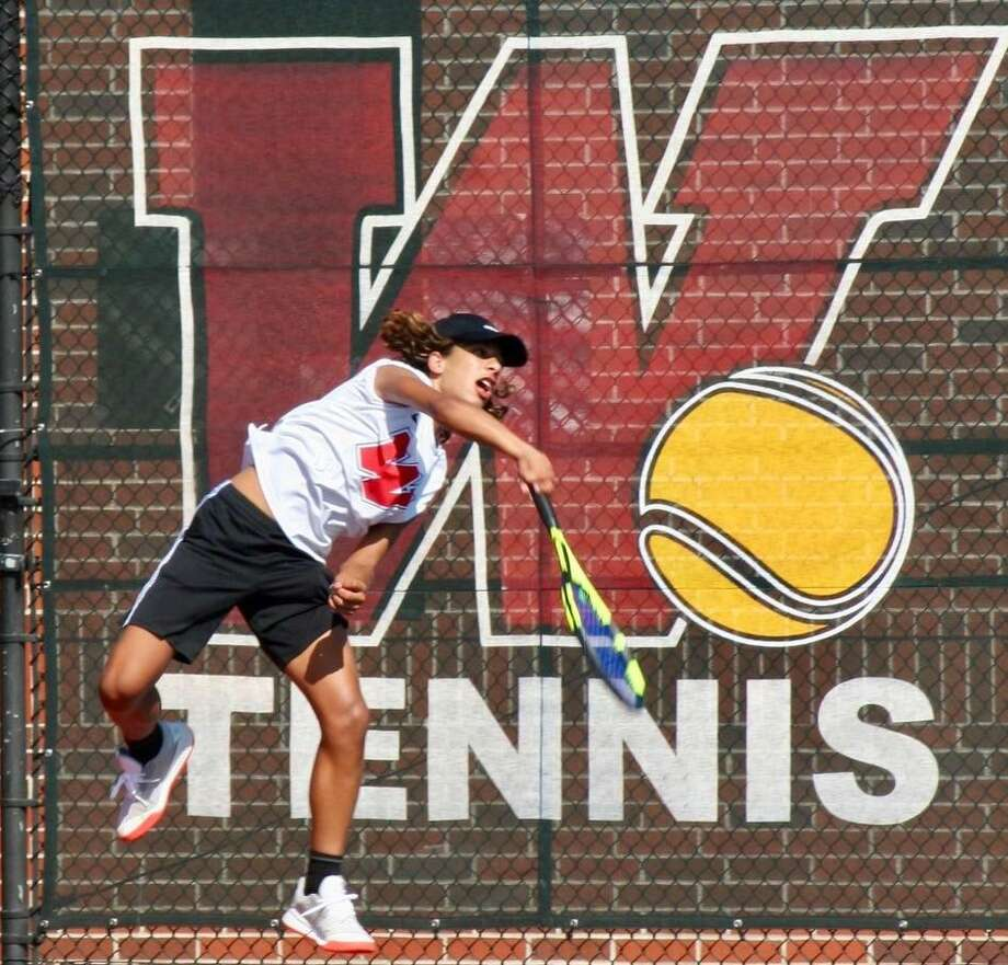 Jose Perez competes for The Woodlands in a match during the 2019 fall season. Photo: Submitted