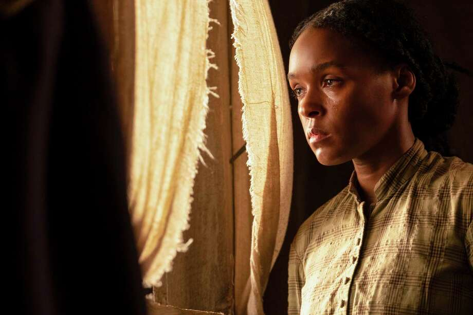 "This image released by Lionsgate shows Janelle Monae in a scene from ""Antebellum."" (Matt Kennedy/Lionsgate via AP) Photo: Matt Kennedy, HONS / Associated Press / Lionsgate"
