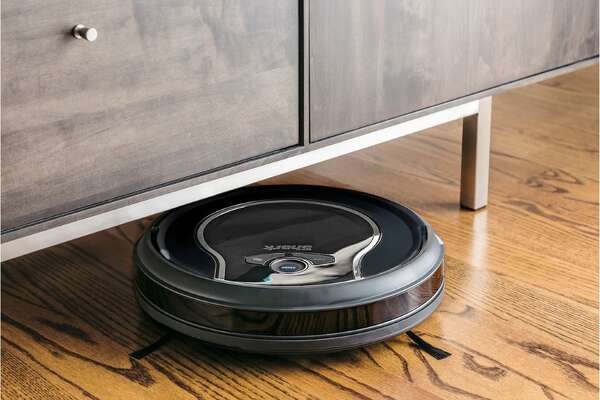 The Shark ION™ Robot Vacuum R76 with Wi-Fi is on sale for $207.99 at Macy's One Day Sale.