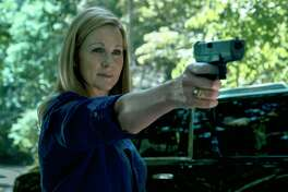 "Laura Linney in a scene from ""Ozark."""