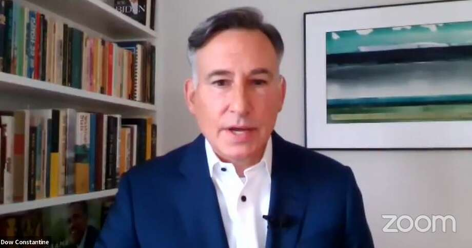 King Co. Executive Dow Constantine proposes investments to policing, detention alternatives. Photo: Via Zoom
