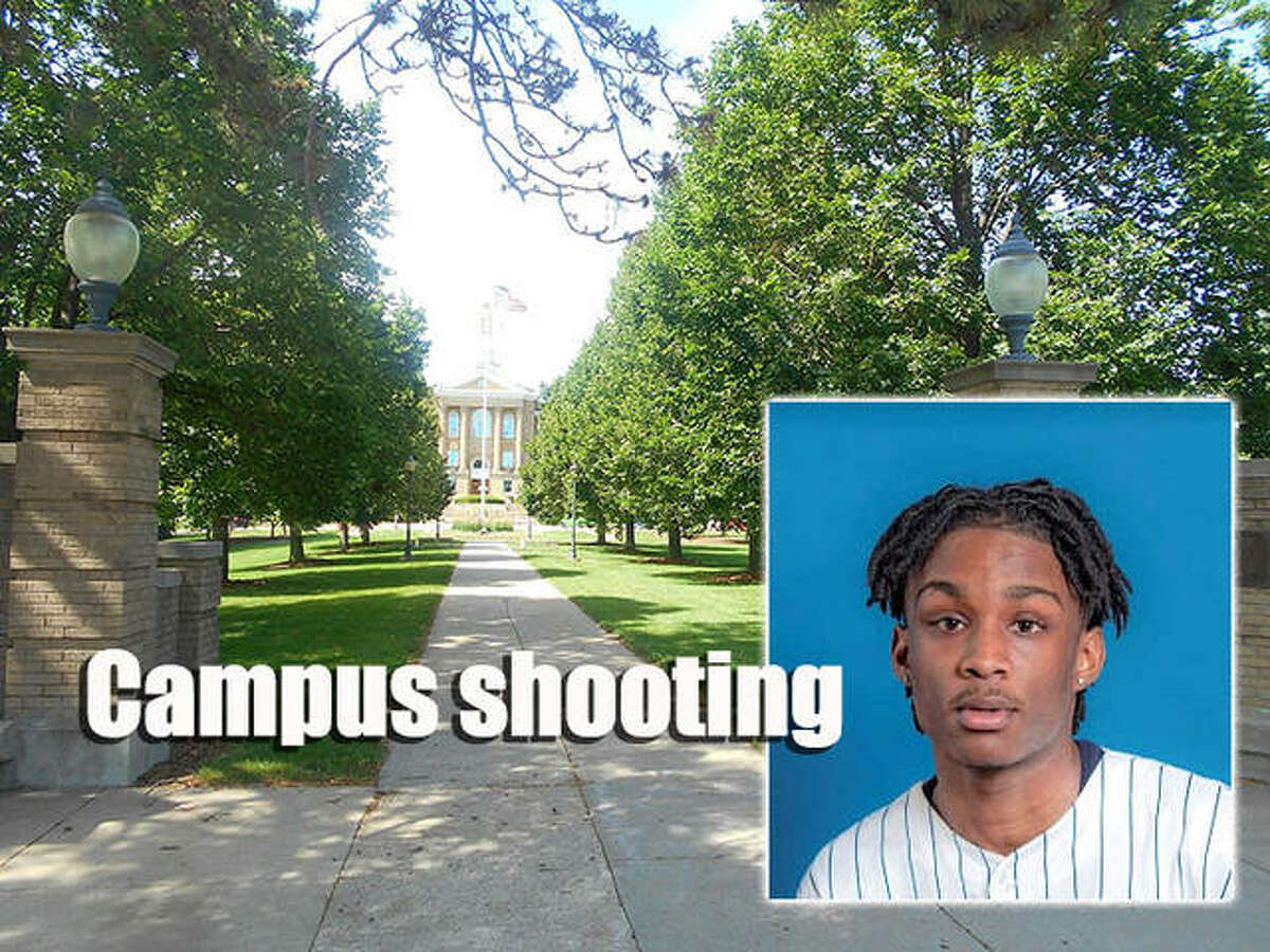 Freshman Kavion Poplous was taken into custody Wednesday in a shooting late Tuesday at a Western Illinois University residence hall.