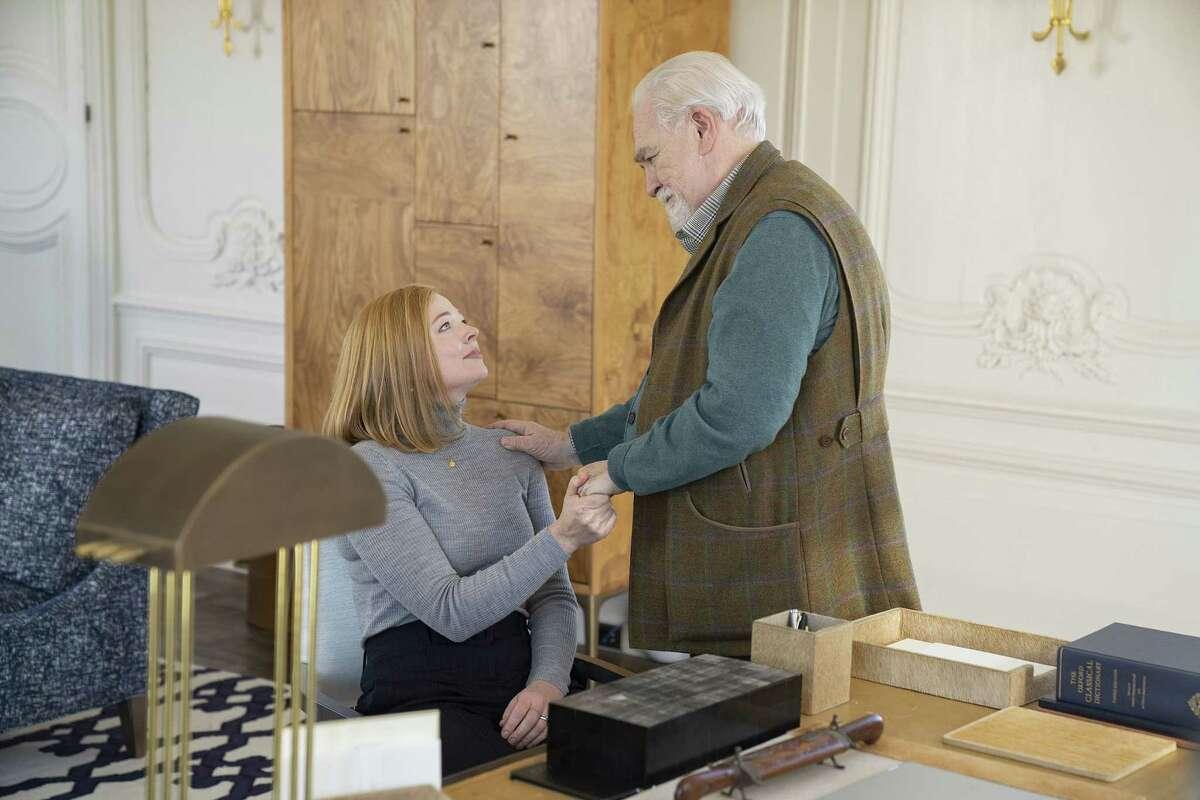 Season 2, Episode 1 Season 2, episode 1 (debuts 8/11/19): Sarah Snook, Brian Cox. photo: Peter Kramer/HBO