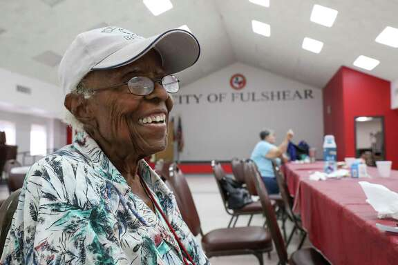 """I love Fulshear, I'm glad I didn't move. There was a lot of opportunity for me as a black woman,"" said Viola Randle, former mayor of Fulshear, on Tuesday, Sept. 3, 2019, in Fulshear."