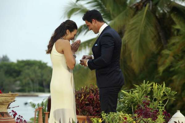 """On the Plus Side: You Pick Your Own Diamond: Andi revealed this amusing fact, saying that while the guy technically picks the ring for the cameras, first the Bachelorette gets to """"practically design [it herself] by dropping hints to producers."""""""