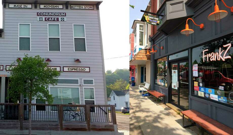 Conundrum Cafe and Frankz were two Benzie County businesses that received funding from the Regional Resiliency Fund. (Courtesy Photo)