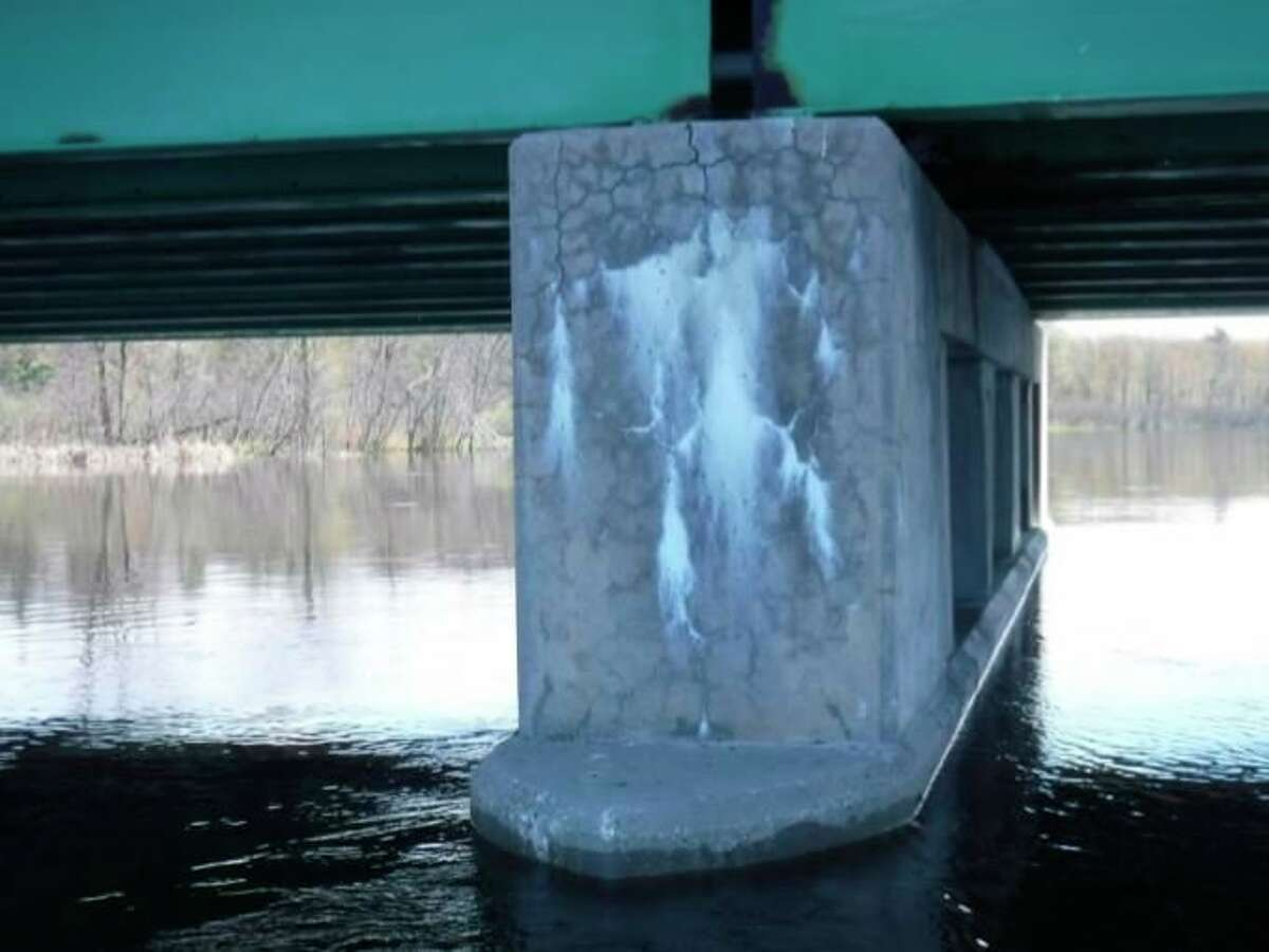 The M-55 bridge is rated in poor condition by MDOT officials and will be replaced starting around Dec. 1. Work is expected to wrap upbefore Nov. 2021.(Courtesy Photo/Michigan Department of Transportation)