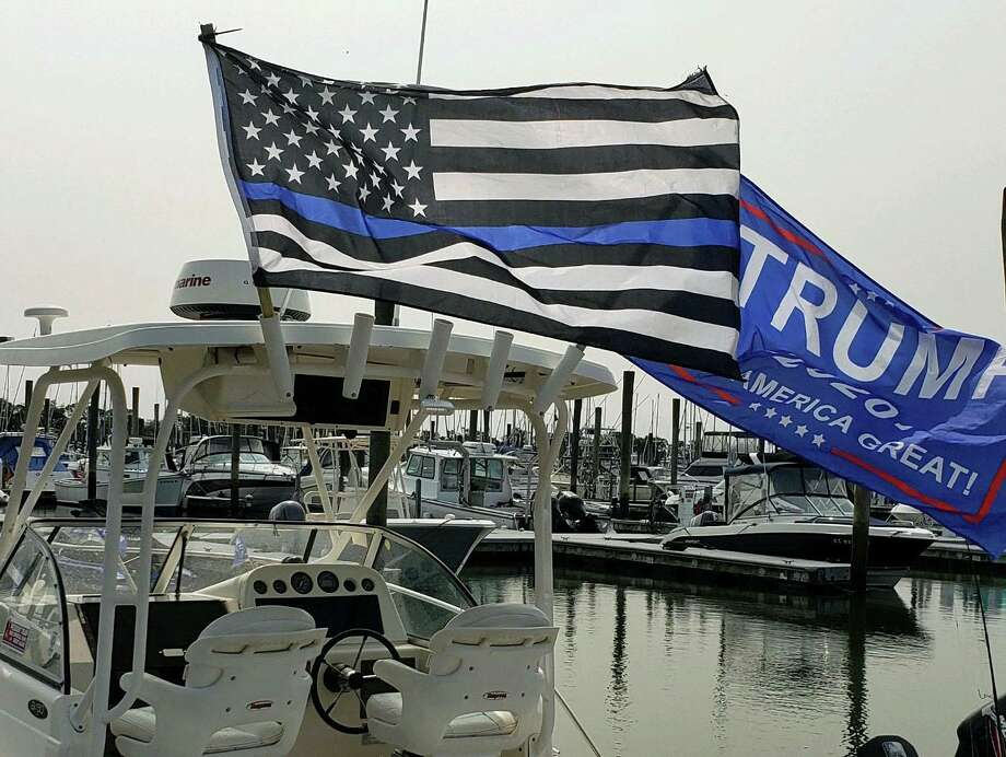The fishing boat Todd Pertrowski will be on during the Boaters for Trump even Sept. 26. Photo: Contributed
