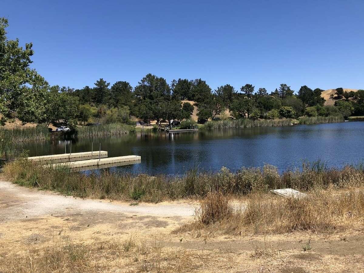 Boranda Lake at Foothills Park in Palo Alto.