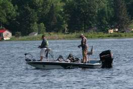 Anglers hope to have a challenging weekend. (Pioneer photo/John Raffel)