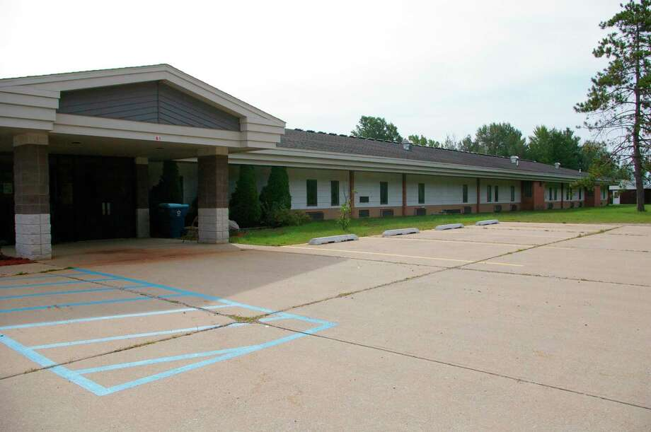 What used to be Hillside Elementary in Hope has been converted into apartments. DeShano Development Corporation purchased the property in June. An open house will take place from 10 a.m. until 3 p.m. on Sunday, Sept. 20, at Hillside School Residences, 59 W Baker Road in Hope. (Photo by Niky House)
