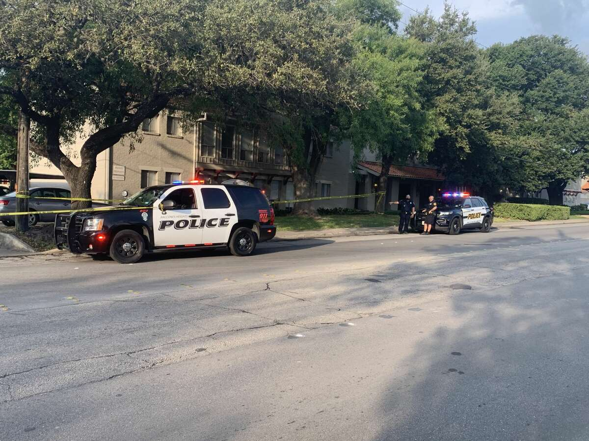 Balcones Heights and San Antonio police are investigating a shooting near the 1100 block of Babcock Road. Balcones Heights and San Antonio police are investigating a shooting near the 1100 block of Babcock Road.