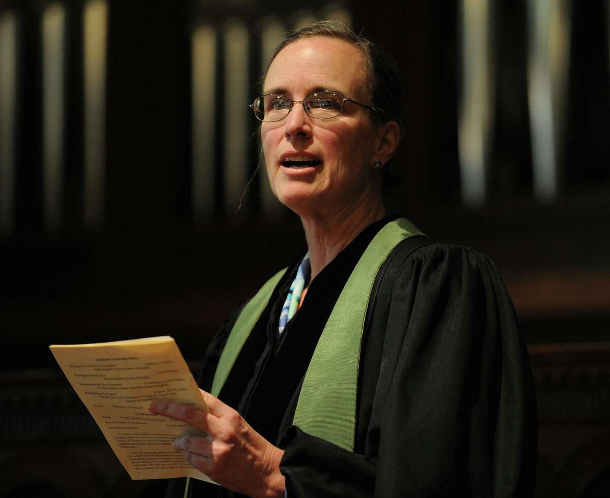 The installation of the Reverend Cass Shaw as president and CEO of The Council of Churches of Greater Bridgeport at First Congregational Church in Fairfield, Conn. on Sunday, September 15, 2013. Cass Shaw, the outgoing head of the Council of Churches of Greater Bridgeport, opposed Mayor Joe Ganim's decision in 2018 to select his close friend Perez from among three finalists to run the police department. Shaw and others argued Perez was unqualified and too politically connected to be a good manager and to pursue reforms to clean up the force.