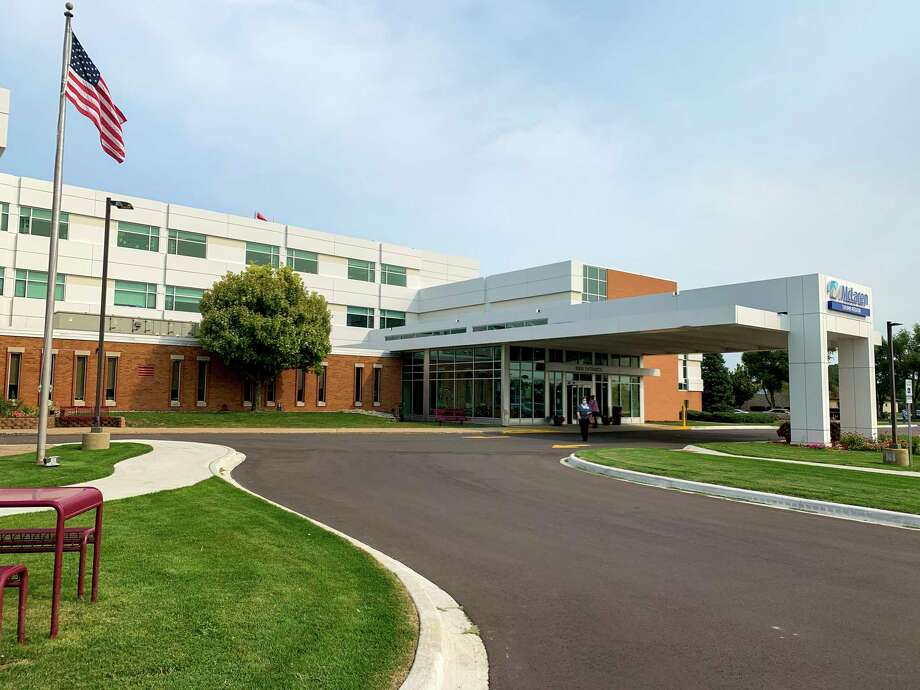 According to McLaren Thumb Region's CEO Michael Johnston, many changes implemented to combat the coronavirus pandemic will remain in place after the pandemic subsides, including a permanent screening station located in the Emergency Department waiting room. (Paige Withey/Huron Daily Tribune)